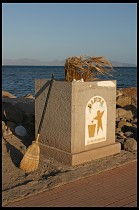 Digital photo titled loreto-seaside-trash-can