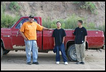 Digital photo titled pickup-crossing-navajo-2