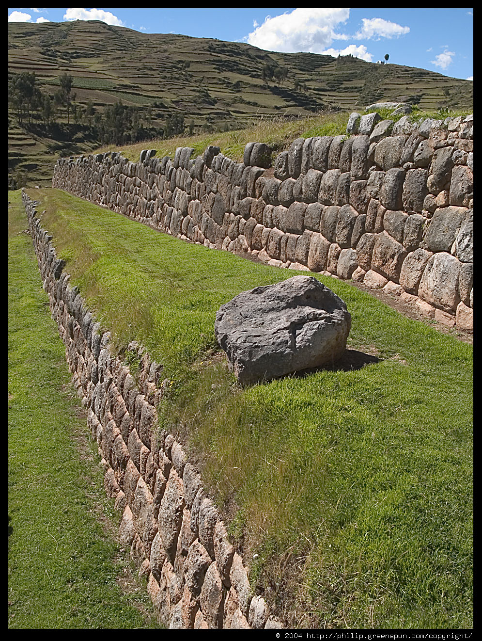 Photograph by philip greenspun chinchero inca terraces 2 for The terraces 2