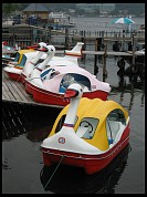 Digital photo titled duck-and-jet-boats-chuzenji-ko