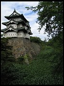 Digital photo titled hirosaki-castle-tower