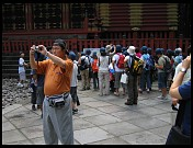 Digital photo titled nikko-tourists-1