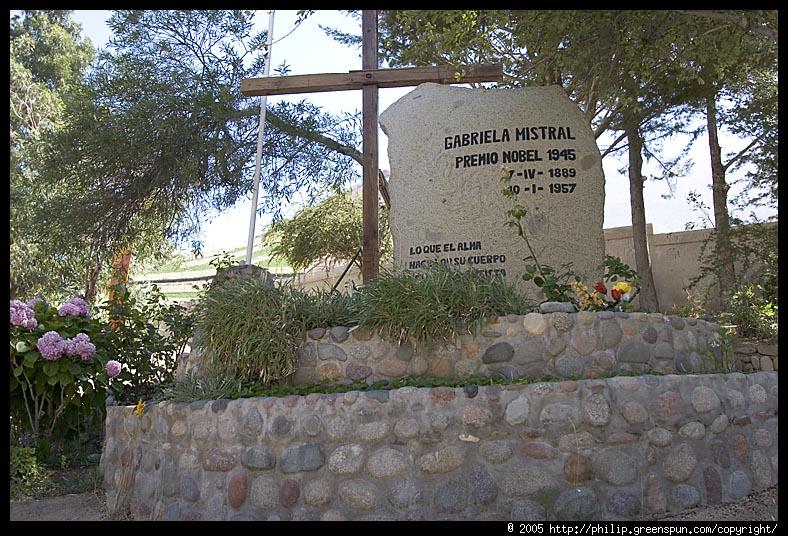 Gabriela Mistral tomb