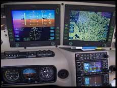 avidyne versus garmin g1000 glass cockpits