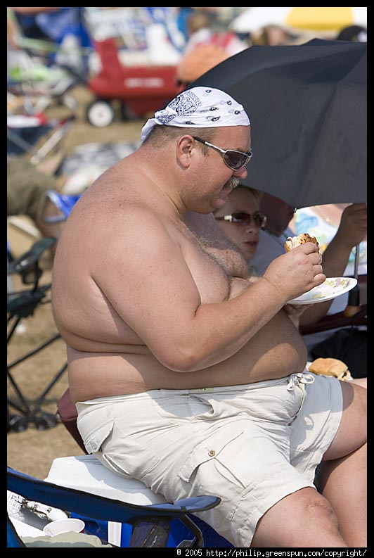 Fat Guy Shirtless 29