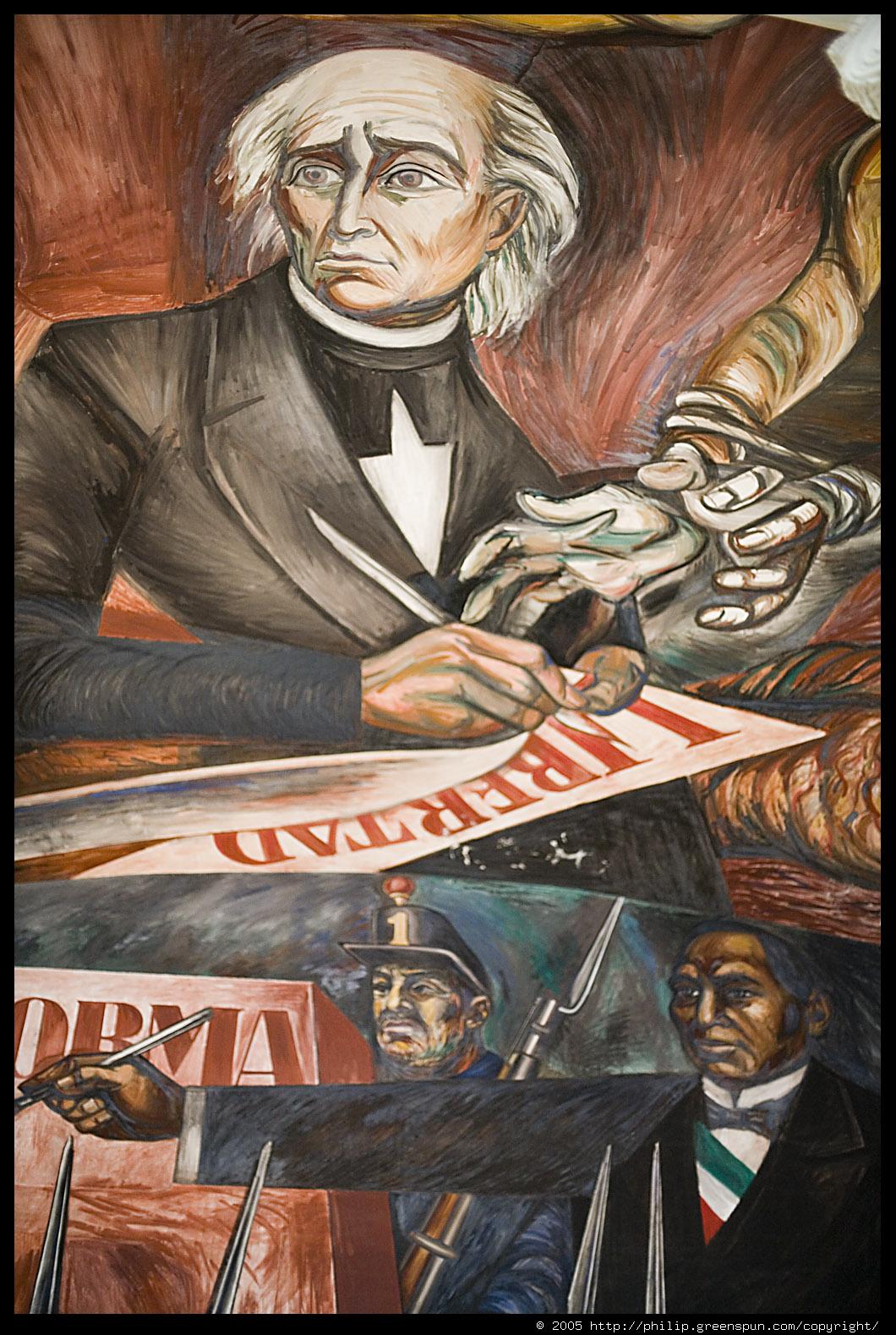 Photograph by philip greenspun orozco hidalgo mural for Aviso de ocasion mural guadalajara
