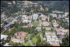 University of California, Berkeley, aerial