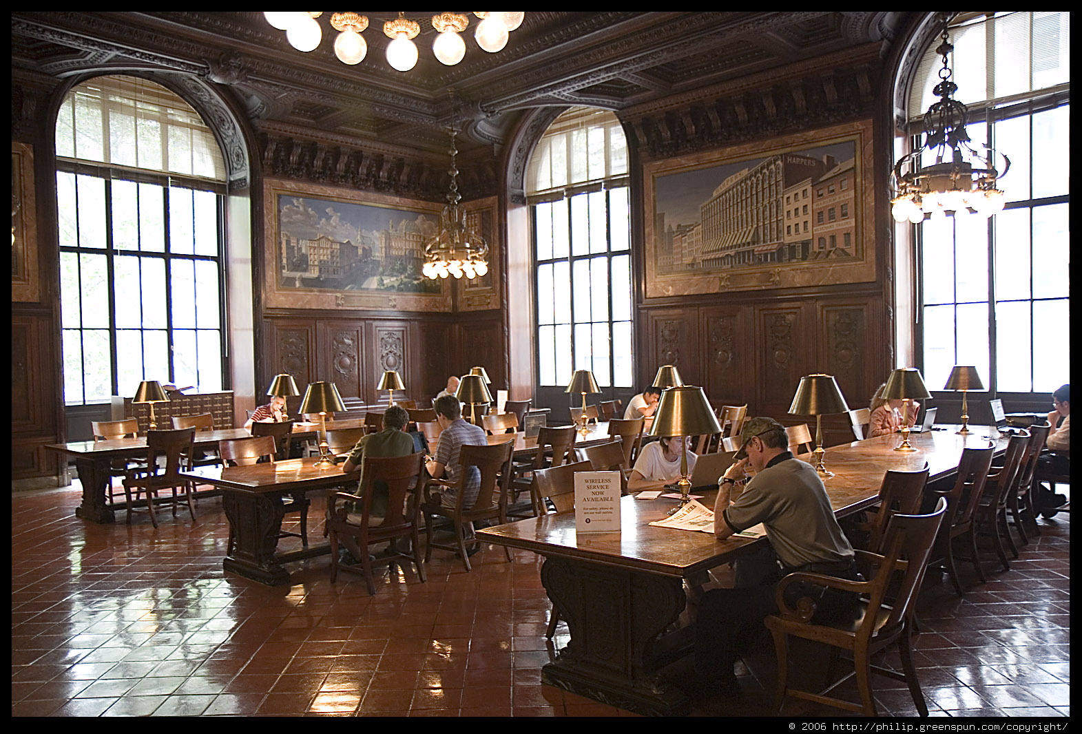 Photograph By Philip Greenspun New york public library