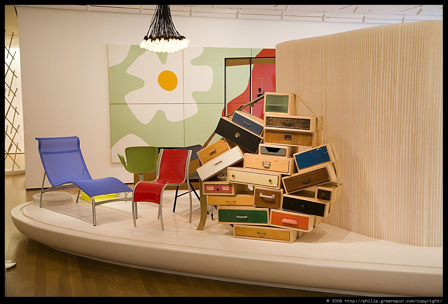 Photograph By Philip Greenspun Moma Furniture