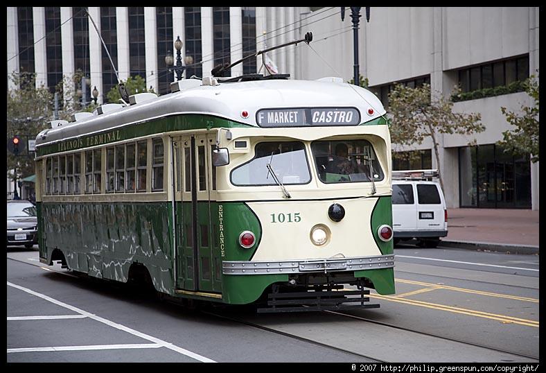 Muni Trolleys San Francisco San-francisco-muni-trolley
