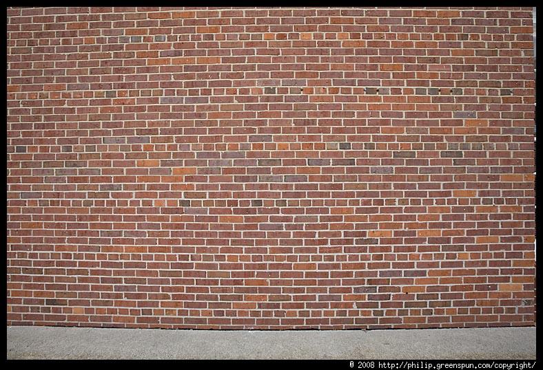 Brick Color Uniform Wall Pattern
