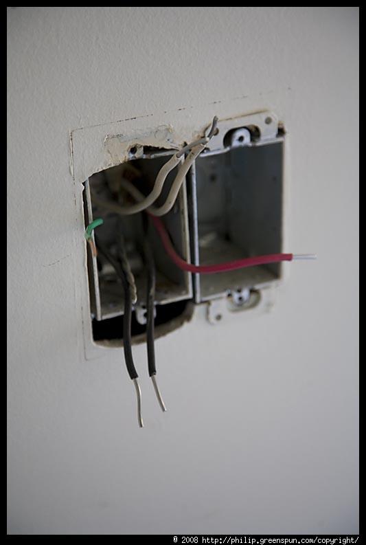Fine Photograph By Philip Greenspun Copalum Aluminum Wiring Fix 03 Wiring 101 Photwellnesstrialsorg