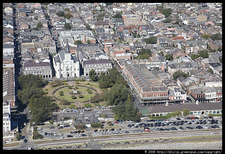 Photograph by Philip Greenspun: new-orleans-jackson-square