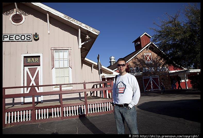 Photograph by Philip Greenspun: barn-door-steakhouse ...