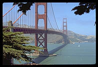 Golden Gate Bridge.  San Francisco, California.