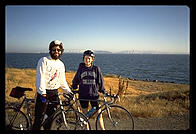 Joel and Karen by San Francisco Bay (Berkeley Marina)