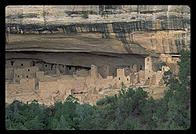 Cliff House.  Mesa Verde, Colorado.