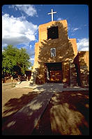 Old church.  Santa Fe, New Mexico.