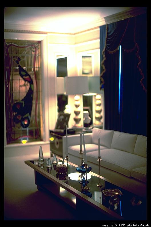 33 Green Living Room Wall Ideas Emerald Green Decorating: Graceland-living-room-33