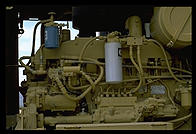 Diesel Engine.  Caterpillar Arizona Proving Grounds