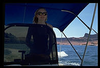 Captain Rebecca.  Lake Powell.  Utah.