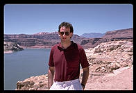 Philip at Lake Powell.