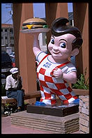 The original Bob's Big Boy, built 1949.  A historical landmark.  Toluca Lake, California.
