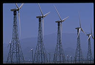 Wind Farm.  Palm Springs, California.