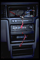 My Dodge Caravan's dashboard, following a visit to Smyly Dodge, Malden, Massachusetts
