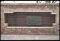The Holocaust Memorial in Venice's ghetto