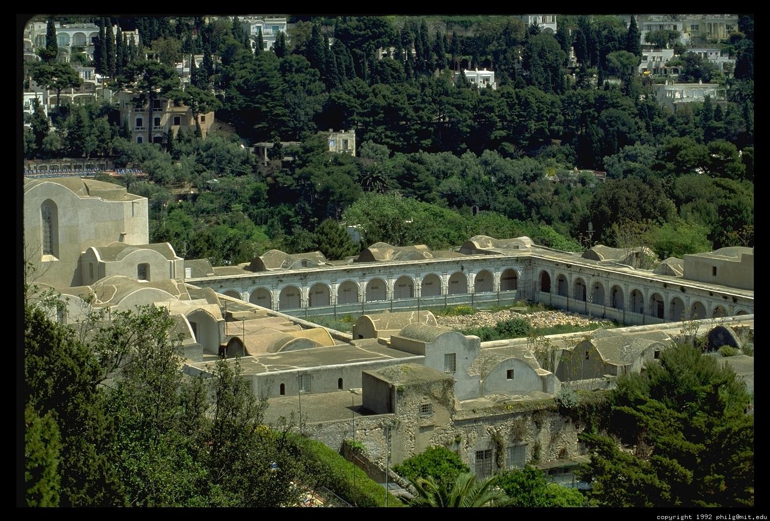 Capri villa tiberius 9 for Capri villa