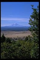 Mt. Shasta, California, viewed from the east.