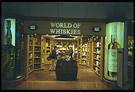 London Heathrow airport, World of Whiskies shop