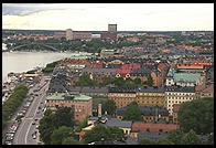 Stockholm viewed from Stadshuset
