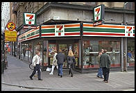 7 Eleven in central Stockholm