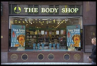 Body Shop store in central Stockholm