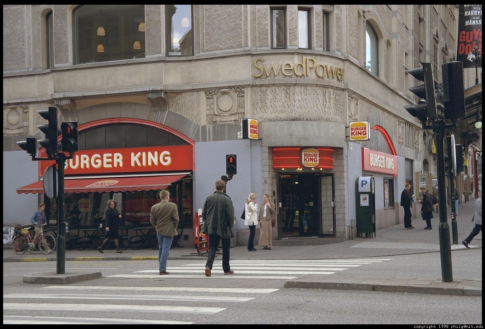 burger king stockholm