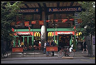 McDonald's in central Stockholm