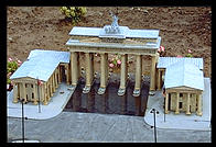Berlin's Brandenburg Gate.  Tivoli Miniature World.  Niagara Falls, Canadian Side.