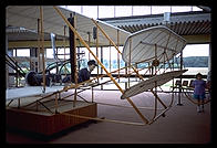 Wright Brothers airplane replica.  Outer Banks, North Carolina.