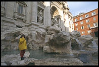 Fontana di Trevi (Trevi Fountain), completed in 1762 designed by Nicola Salvi