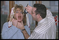 Tato removes Chicca's tooth, Christmas 1995