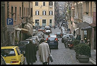Near Christmas 1995 in Rome