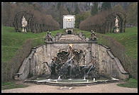 Waterfall in back of Linderhof.  Where Bavaria's King Ludwig II lived.