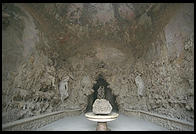La Grotta Grande in Florence's Boboli Gardens, which contains casts of Michelangelo's Four Prisoners, among other treasures