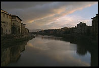 Sunset over the Arno (Florence)