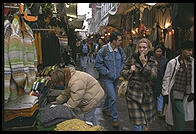 The northern part of Florence's center contains a lively street market as well as the covered Mercato Centrale
