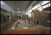 This creche, smack in the middle of Mussolini's Rome train station, shows that the idea of separation of church and state hasn't caught on in Italy