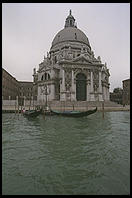 Venice built Santa Maria della Salute in thanksgiving for being spared the Plague of 1630.  Each November 21st, people walk across a pontoon bridge, enter the church, and light candles.