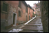 Stairs in Verona, near the Teatro Romano